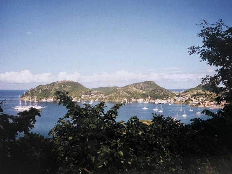 La baie de Terre-de-Haut aux Saintes