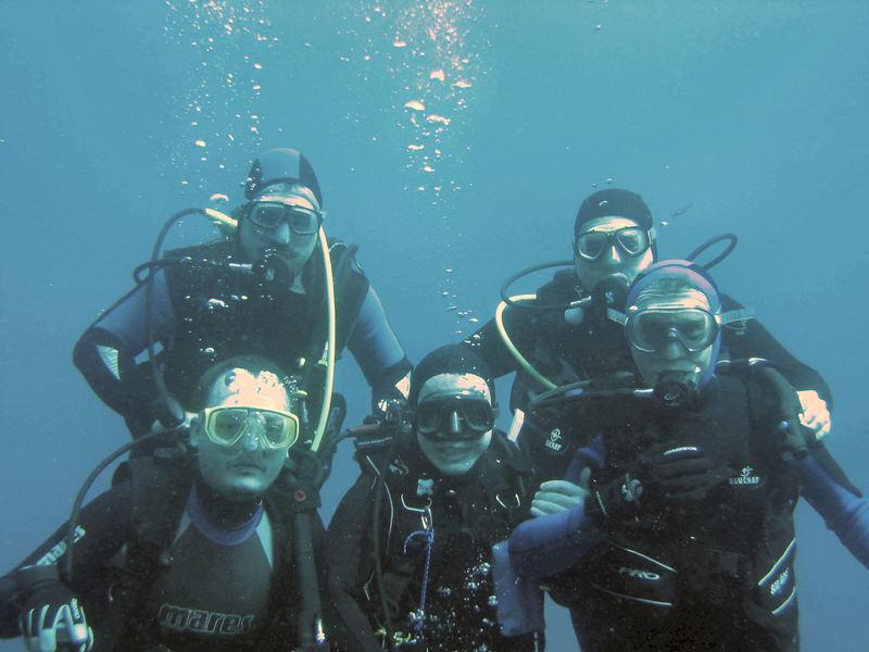 Plongée en club à Antibes
