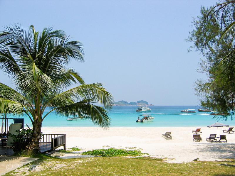 Île de Pulau Redang en Malaisie