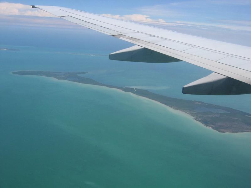 En avion au Belize