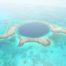trou bleu Belize