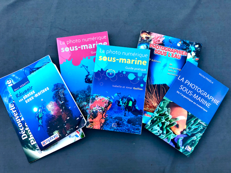 Livres photo sous-marine