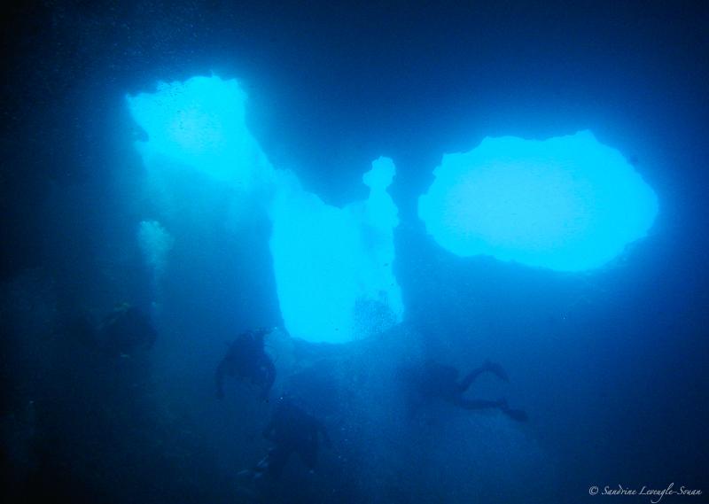 Site de plongée The Cave Croatie