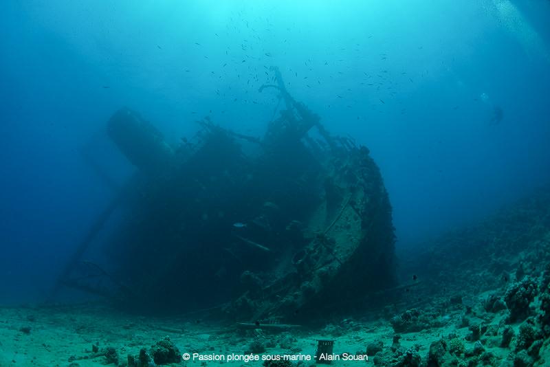 Épave du Giannis D en mer Rouge