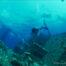 Plongée sur épave en mer Rouge