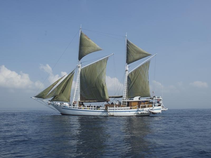 Bateau plongée Komodo