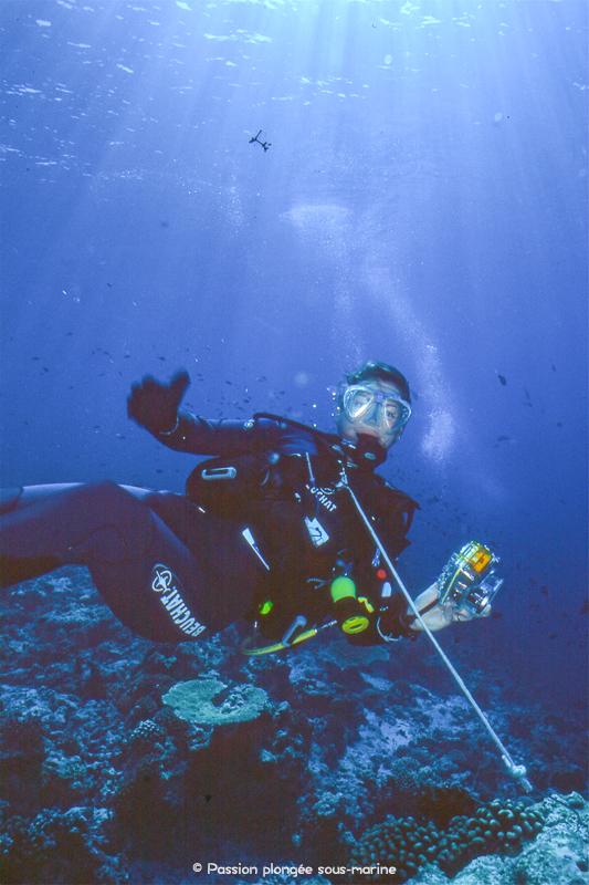 Plongée Maldives avec crochet