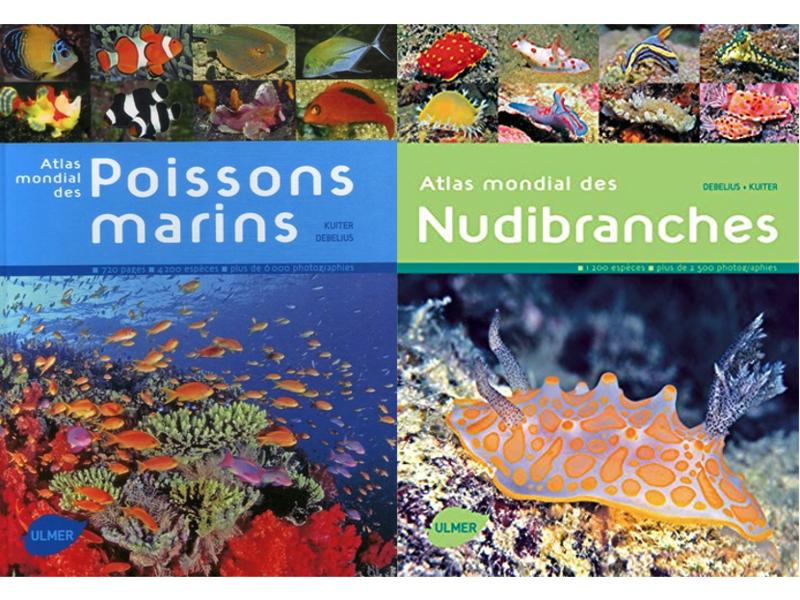 atlas des poissons marins et des nudibranches Ulmer