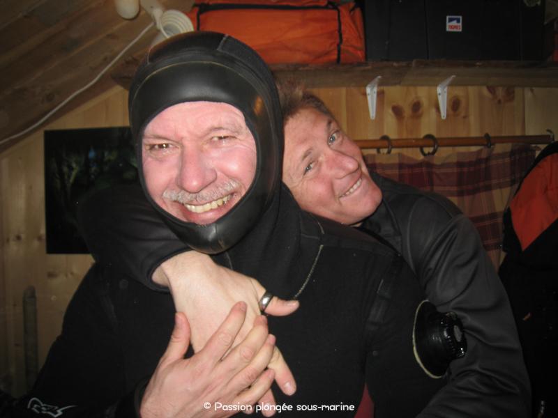 plongée sous glace Alban Michon