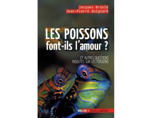 """A lire : """"Les poissons font-ils l'amour ?"""""""