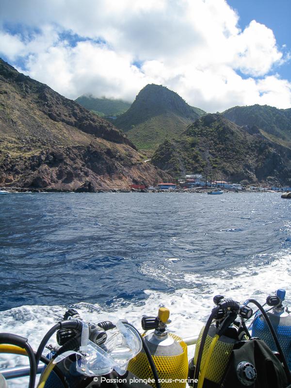 Plongée Saba Caraïbes