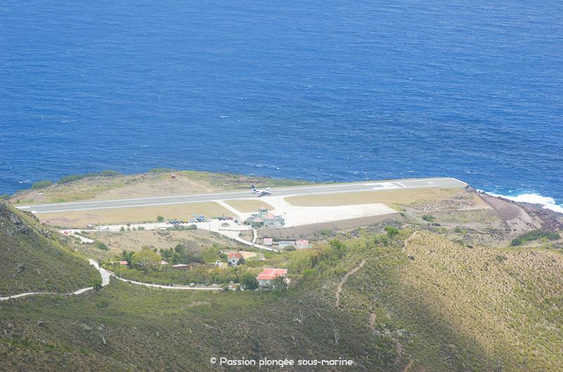 aéroport Saba Caraïbes