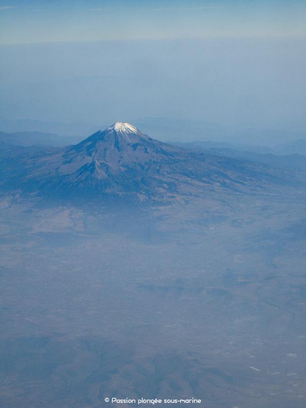 survol volcan Costa Rica