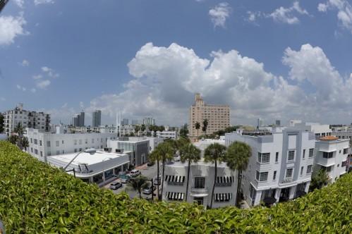 Vue sur Miami depuis le toit-terrasse de The Hotel