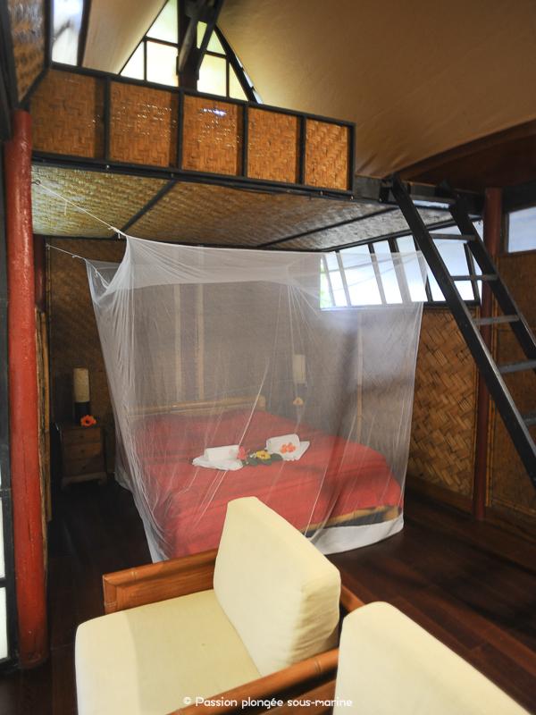 chambre Kuriri Village Maupiti