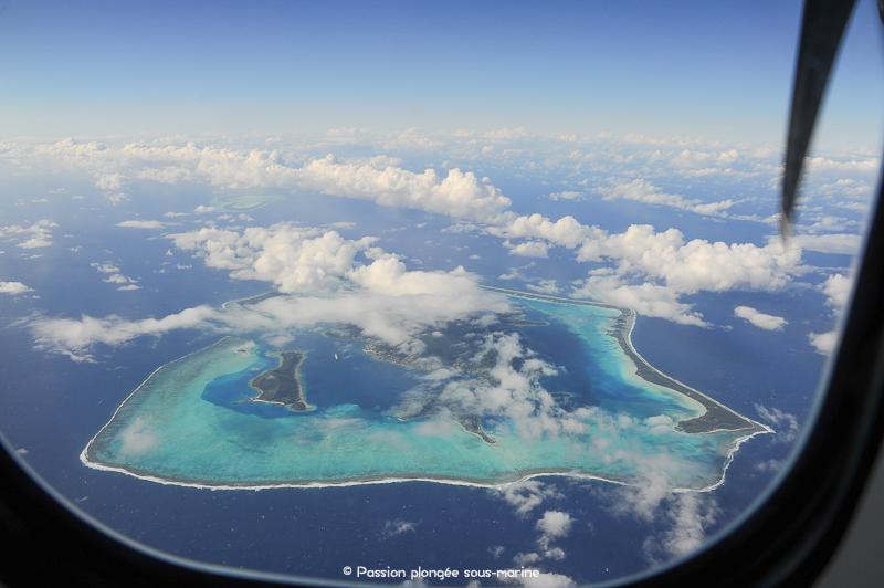 survol Bora Bora