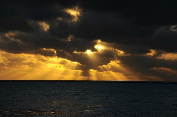 Coucher de soleil Tikehau