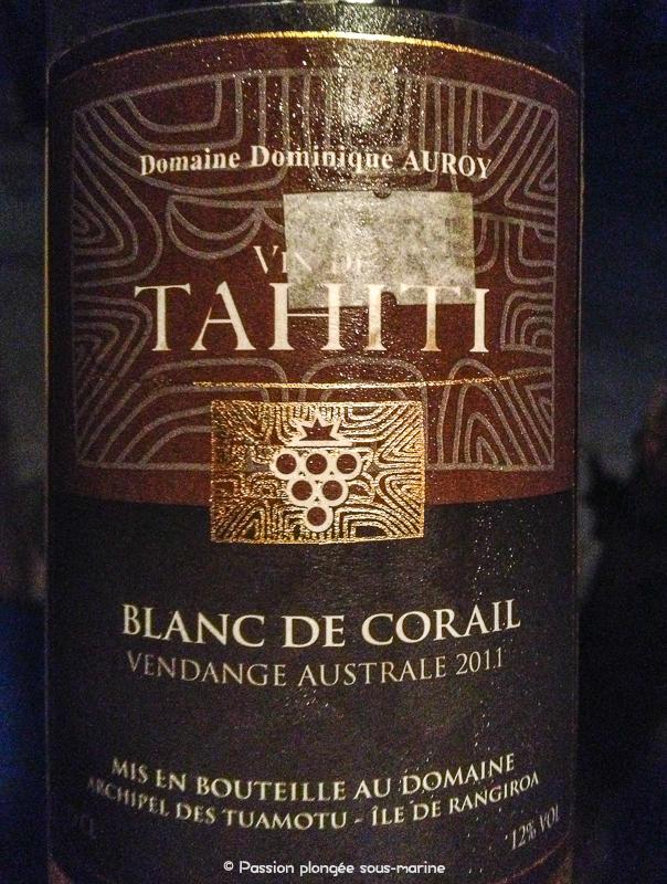 Vin Rangiroa Tahiti