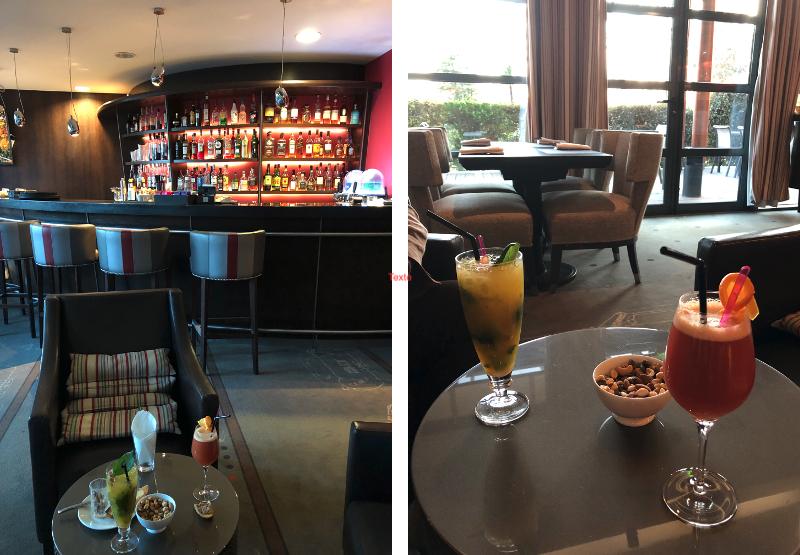 Le café de l'hôtel Parc Beaumont à Pau