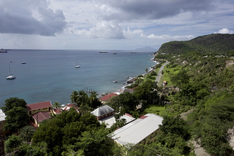 Île de Saint-Eustache dans les Caraïbes