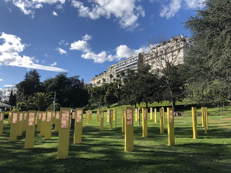 Installation Tour des Géants à Pau