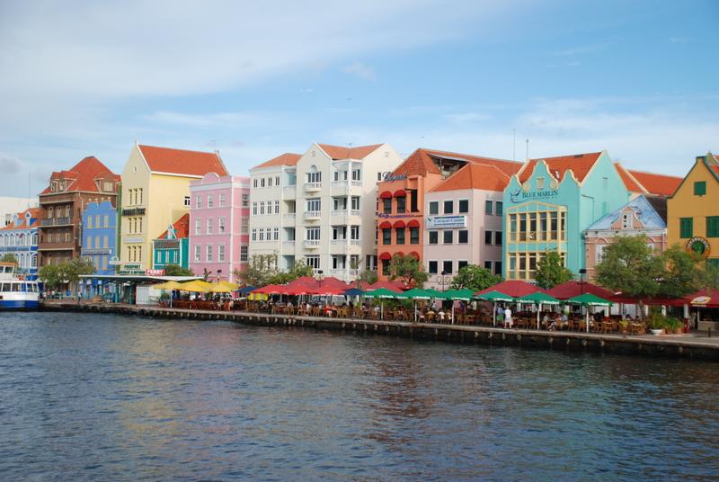 Willemstad capitale de l'île de Curaçao